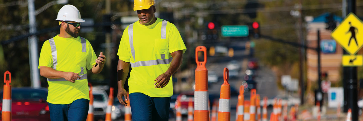 Do you know the different classes of high-visibility clothing according to the CSA Z96-2015 standard?