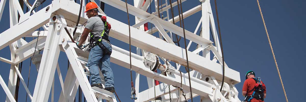 Fall Protection in the Oil and Gas industry