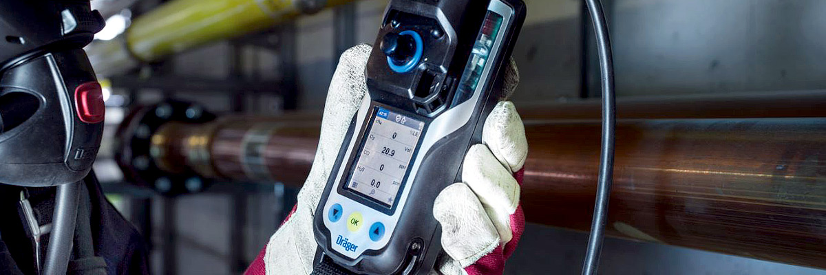 Performing gas detection at different levels or distances