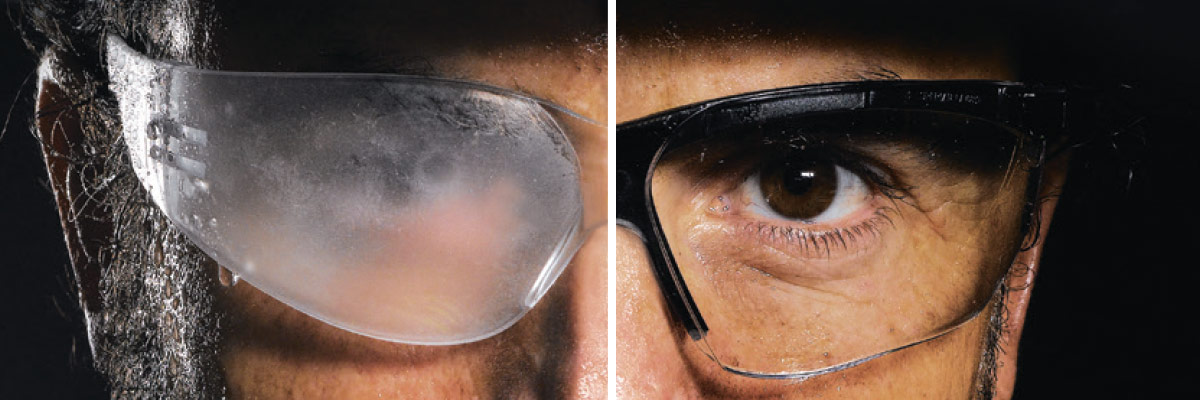 The anti-fog technology to get rid of condensation for good!