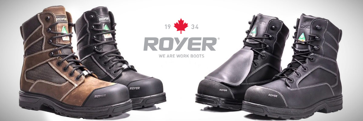 Royer work boots: adapted to each industry