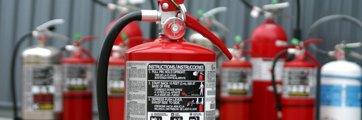 Choosing the right extinguisher