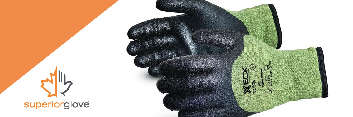 Winter gloves that protect you against different risks