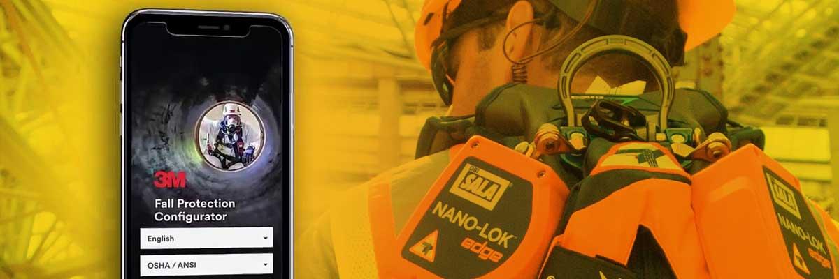 3M Fall Protection Configurator Mobile App