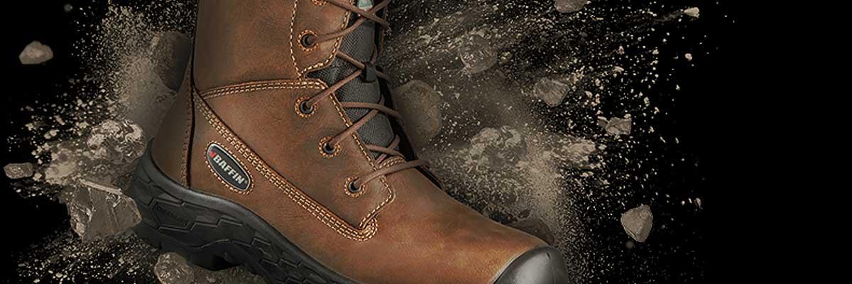 Prévenez les accidents et les chutes sur la glace à l'aide des bottes Baffin