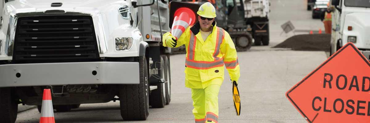 Caution! Roadwork ahead