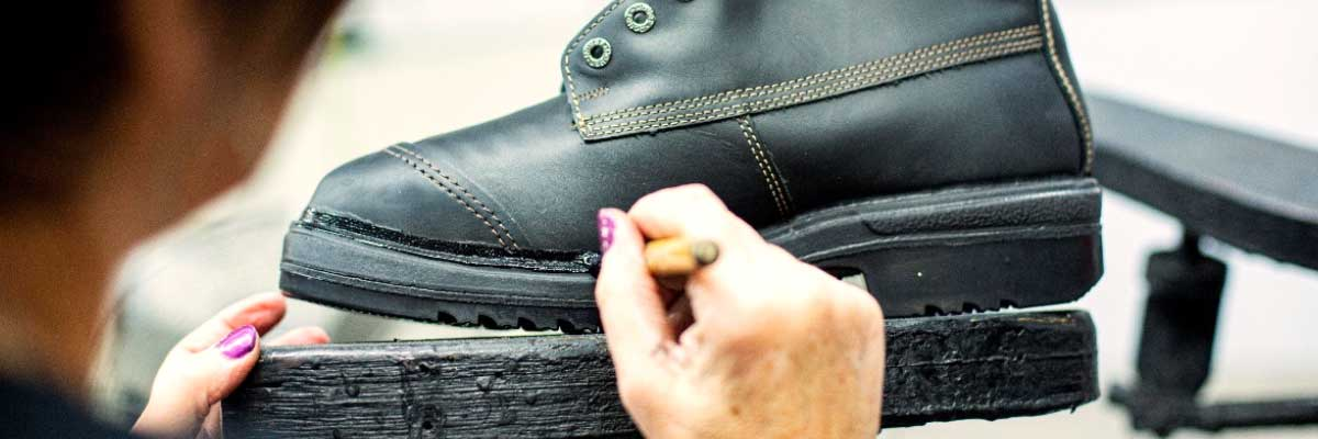 The Art of Making a Safety Boot