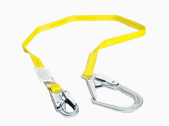 Restraint and positioning lanyards