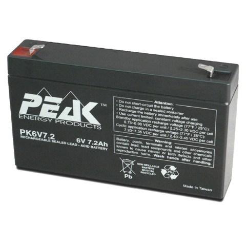 Battery 6 V 7.2 A