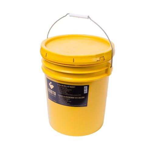 Universal 6 gallon spill kit bucket