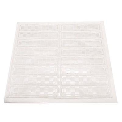 "1"" x 4"" white reflective strip, 16/pkg"